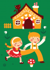 Poster -POFT01 - hansel and gretel - 1
