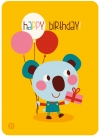 Postcard - birthday - koala - 2