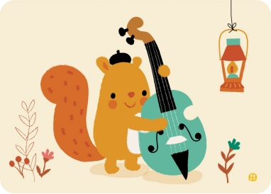 Double bass squirrel
